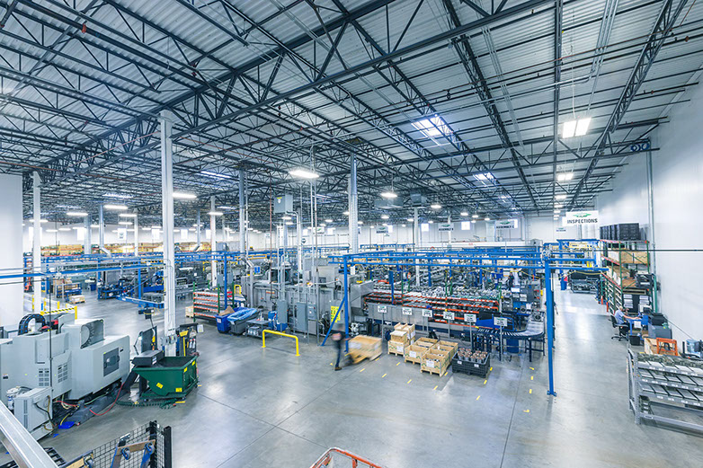 Cutting edge and efficient – the BITZER US production hall