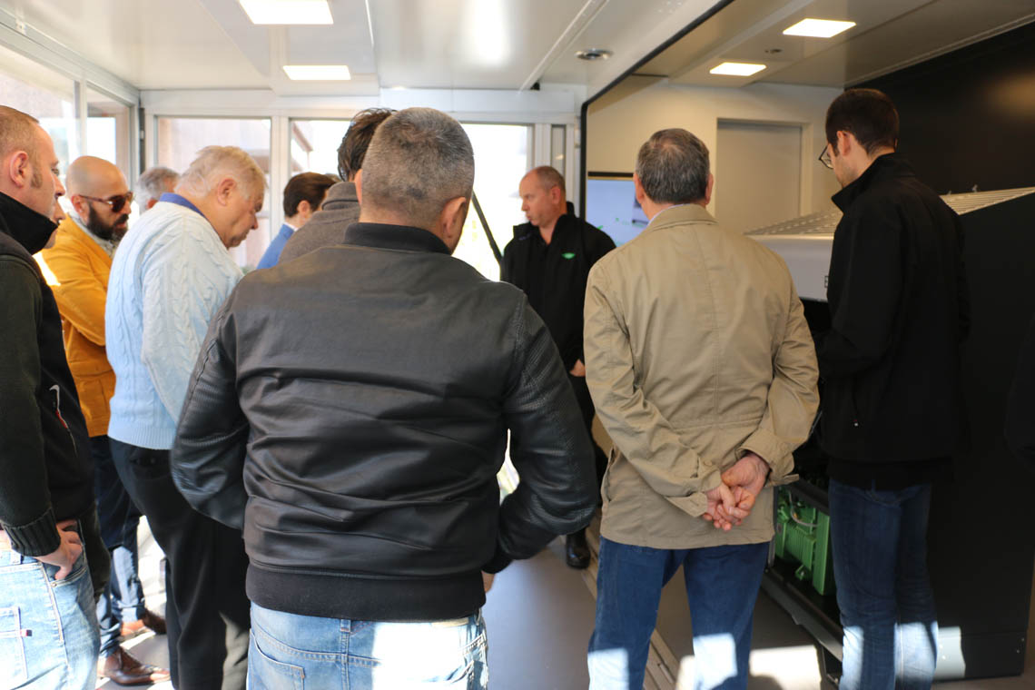 The response at the first BITZER roadshow in Italy was outstanding