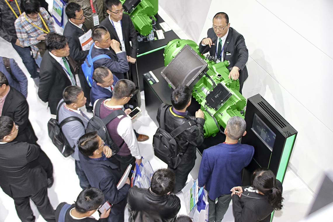 Close to visitors and customers: BITZER at the China Refrigeration