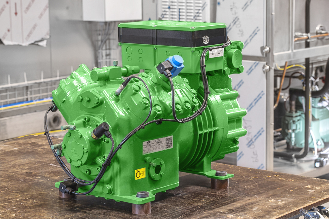 The BITZER IQ module reduces the complexity of the systems as well as their potential for faults