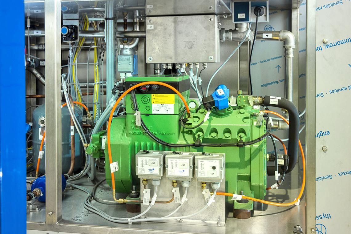 The IQ module allows BITZER reciprocating compressors to be quickly, cost-effectively and easily integrated into any system