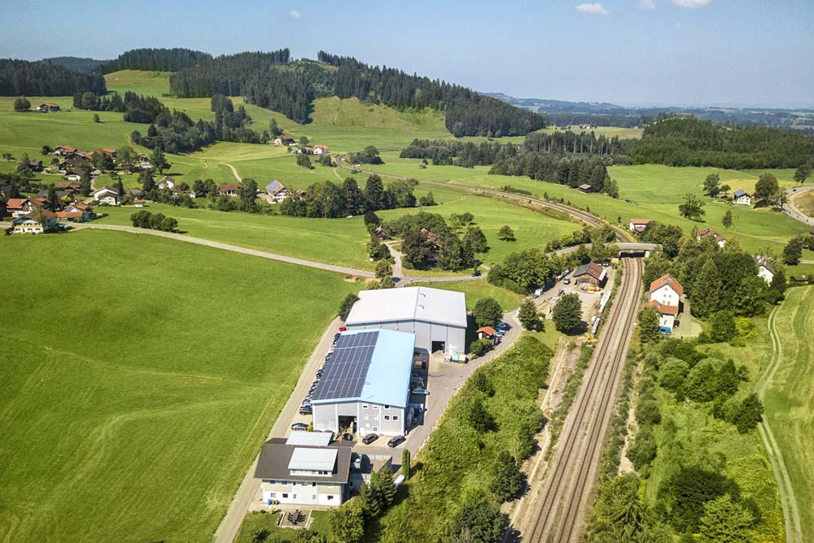 Der Trocknungsanlagenbauer Harter hat seinen Firmensitz im Allgäu
