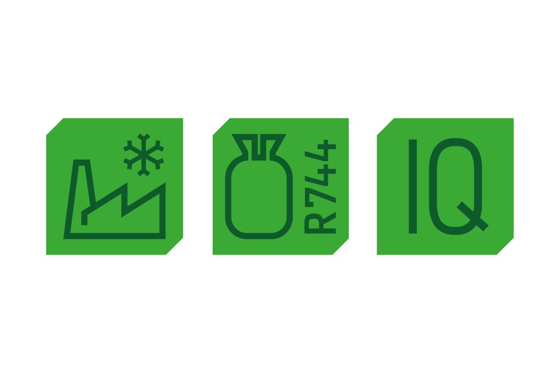 Three BITZER pictographs