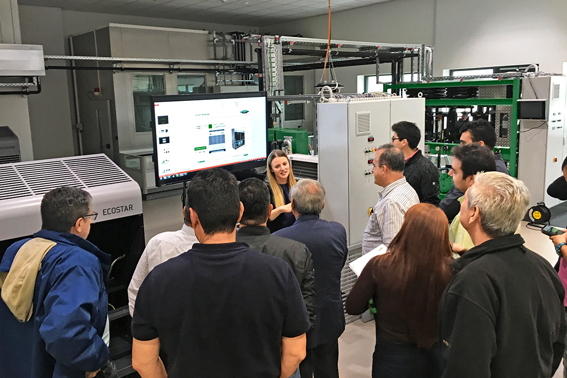 BITZER training at the SCHAUFLER Academy in Rottenburg, Germany