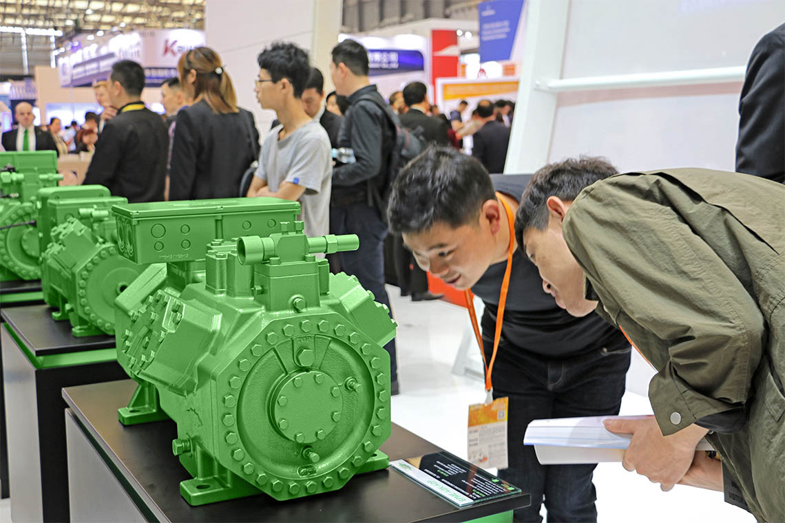 A true eye-catcher: BITZER reciprocating compressors at China Refrigeration 2019