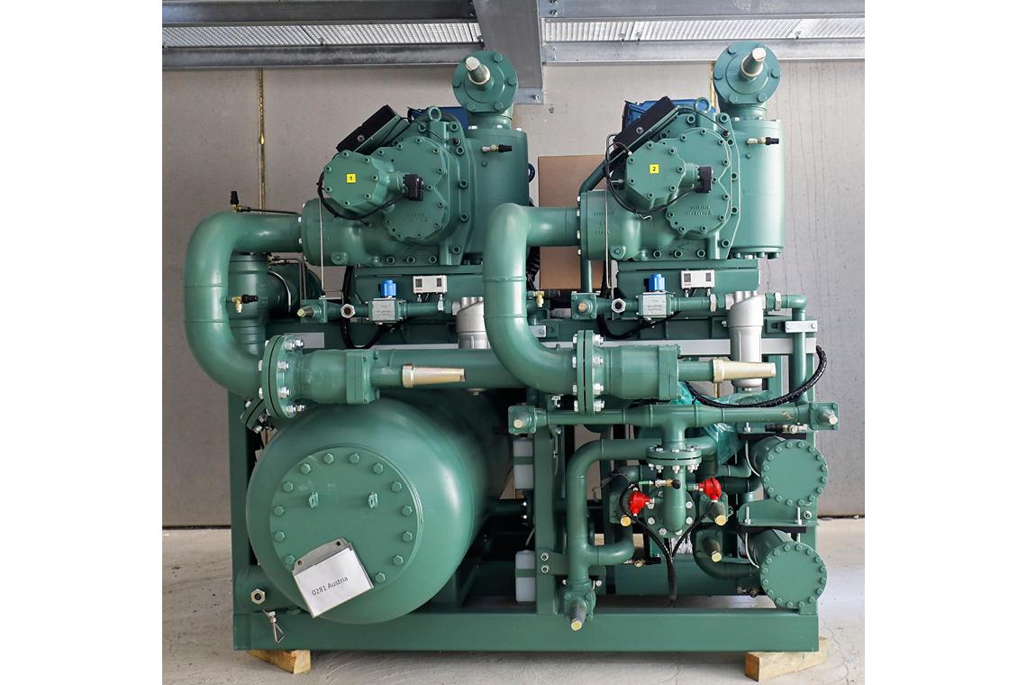 BITZER ammonia compressor pack