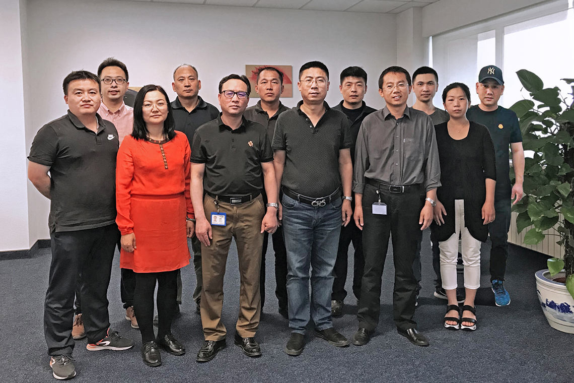 The Research and Development (R & D) department team of BITZER Refrigeration Technology (BRT) now comprises twelve people and continues to grow