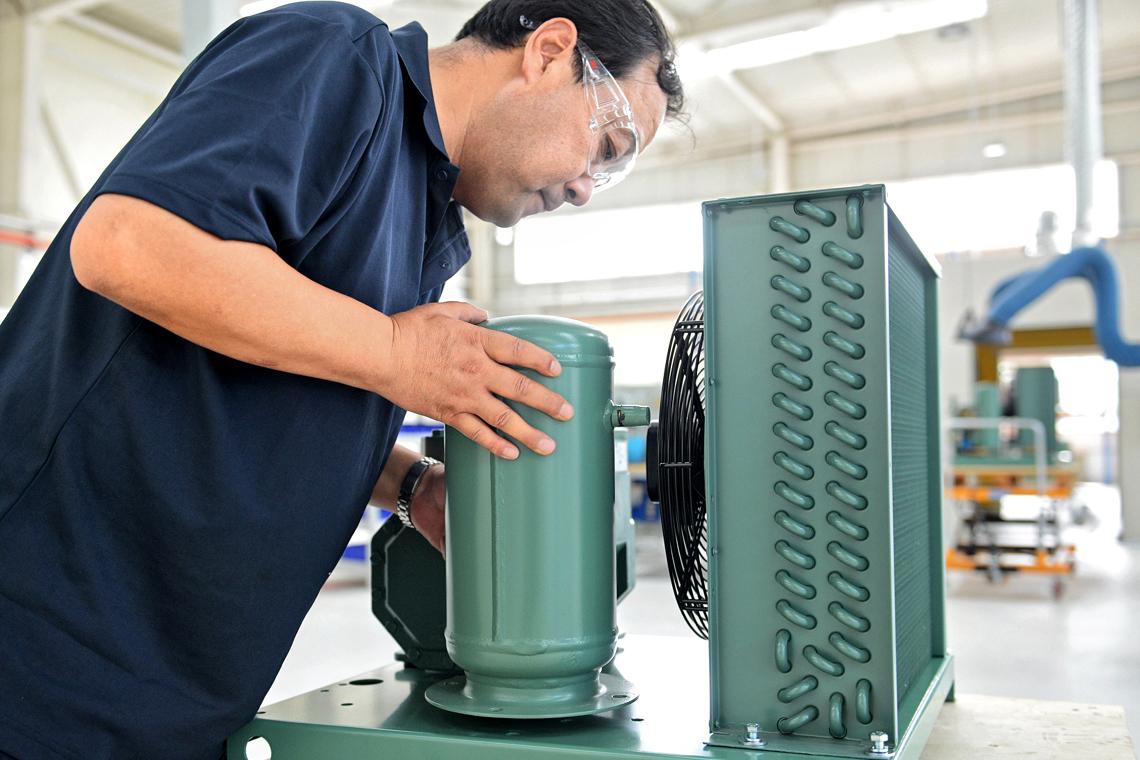 BITZER Industrial Equipment (BIE) specialist in mounting