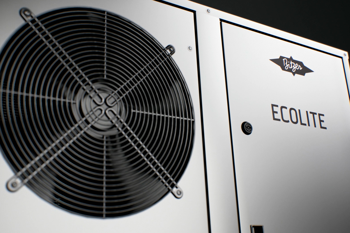 The ECOLITE condensing unit complements the ECOSTAR and LHE series