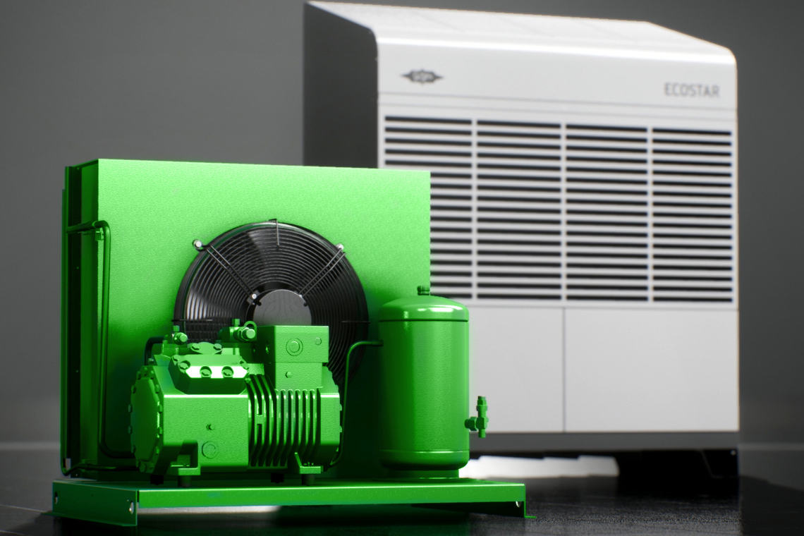 The BITZER product range associated with the LHE and ECOSTAR condensing units has expanded