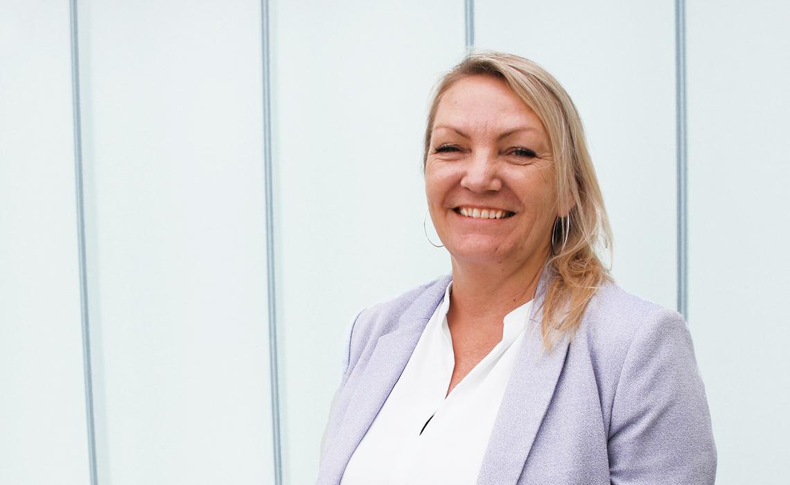 Portrait photo of Anna Marie Damgaard Kristensen, Managing Director at BITZER Electronics