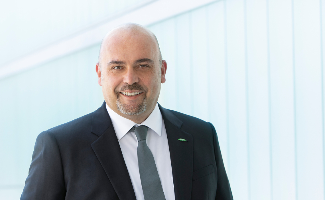 Portrait photo: Gianni Parlanti, Chief Sales and Marketing Officer at BITZER