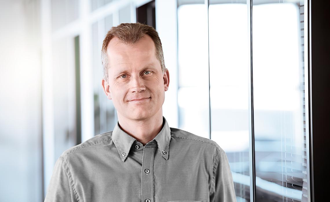 Portrait photo of Henning Højberg Kristensen, Managing Director at BITZER Electronics
