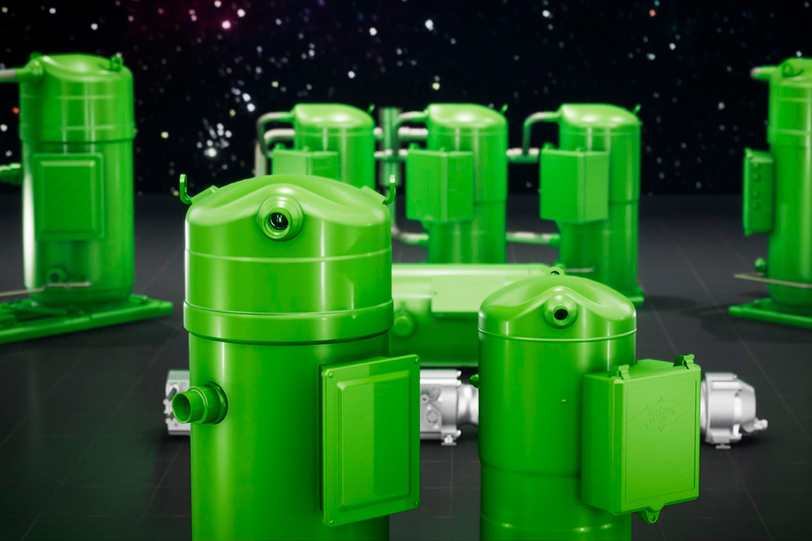 BITZER Orbit scroll compressors in various sizes