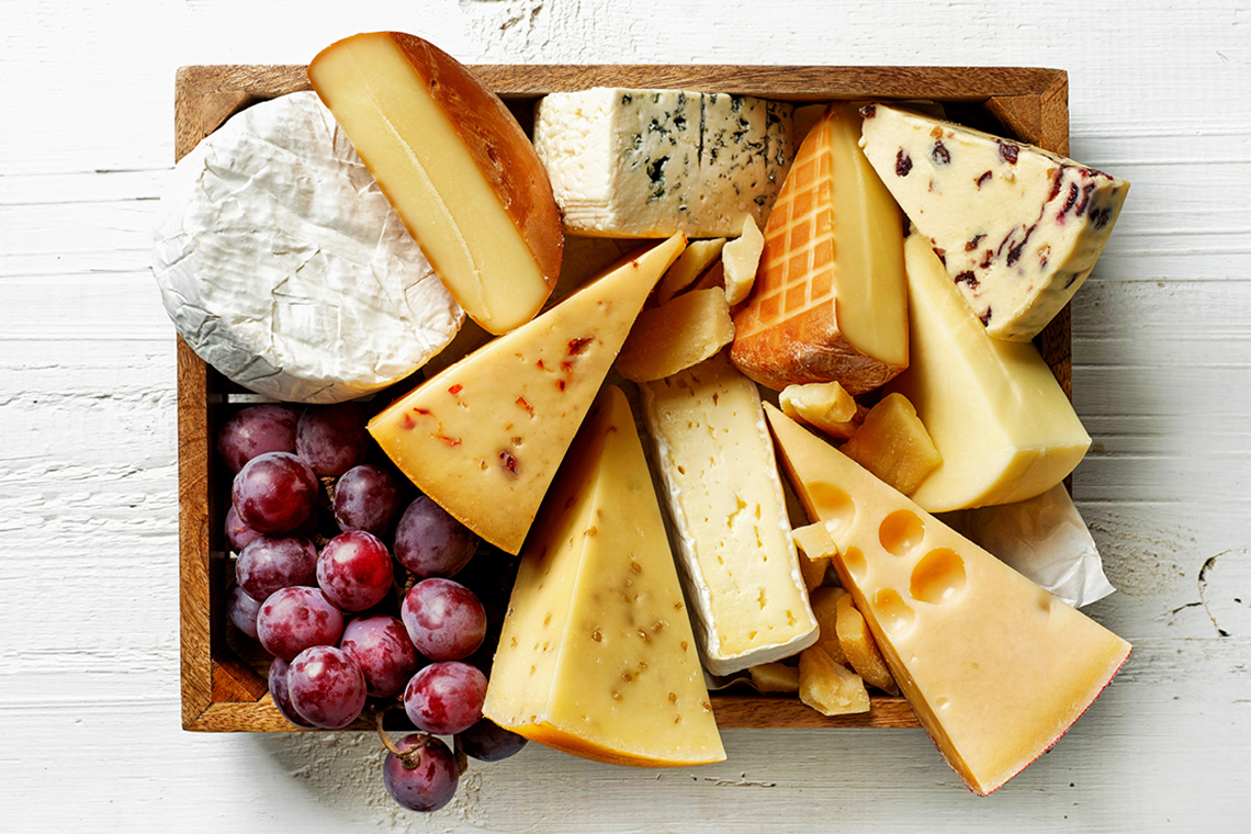 Fine cheese dairy Woerle produces various types of cheese