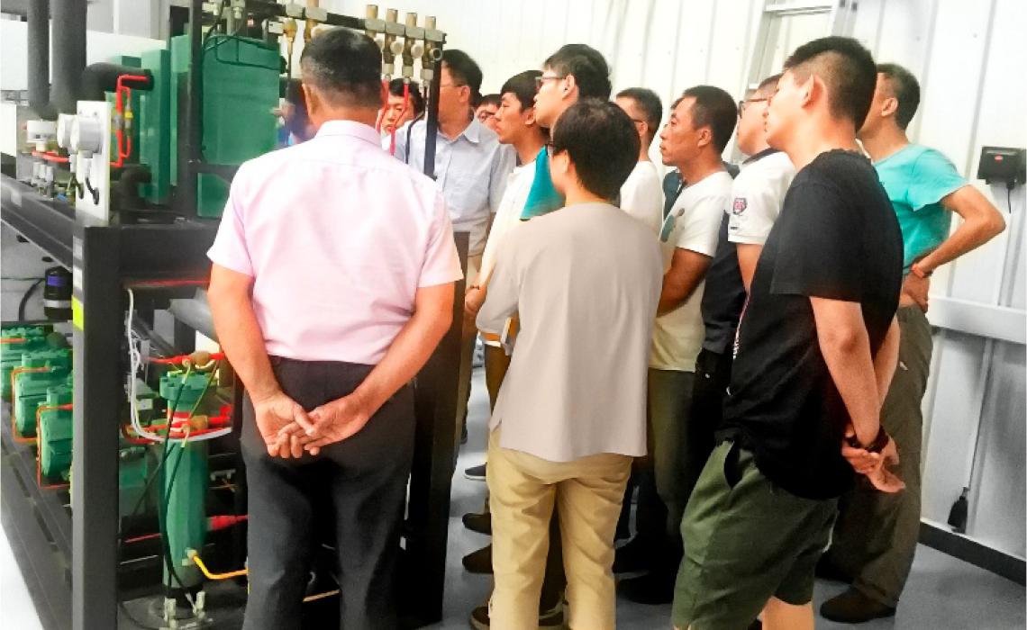 BITZER training centre in Beijing