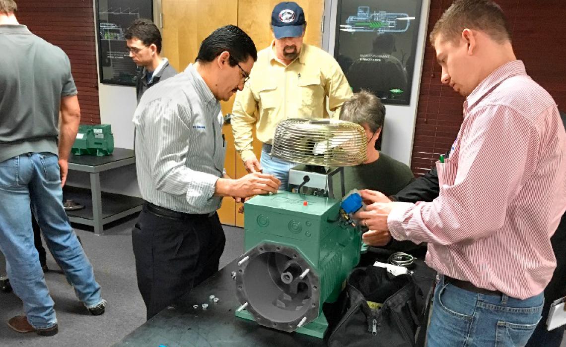 Seit 2015 hat BITZER US ein eigenes Trainingszentrum in Flowery Branch, Georgia