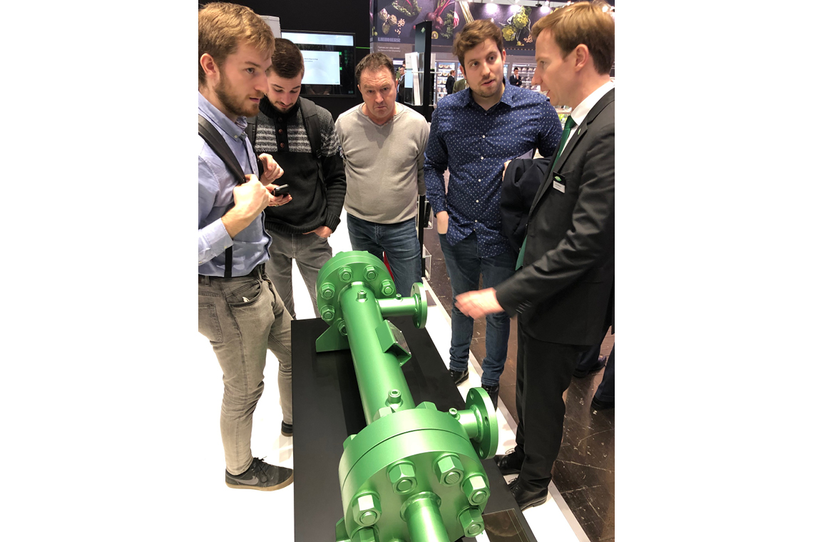 Impressions from the BITZER stand