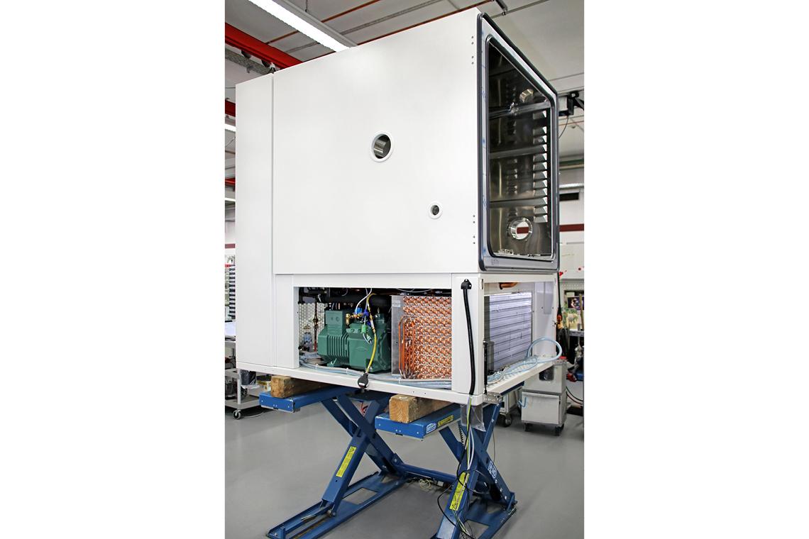 比泽尔压缩机一般用于 vötschtechnik® 的筛选仪器