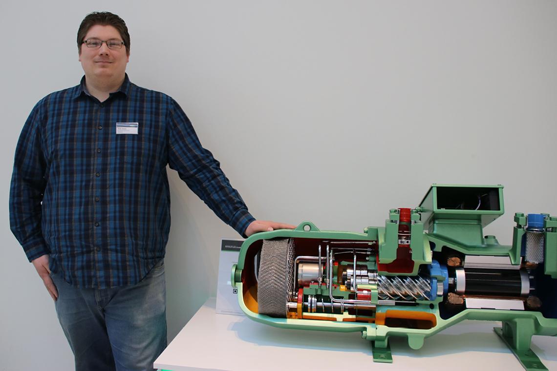 Malte Snater, Werkstattlehrer im Berufsbildungszentrum Handwerk