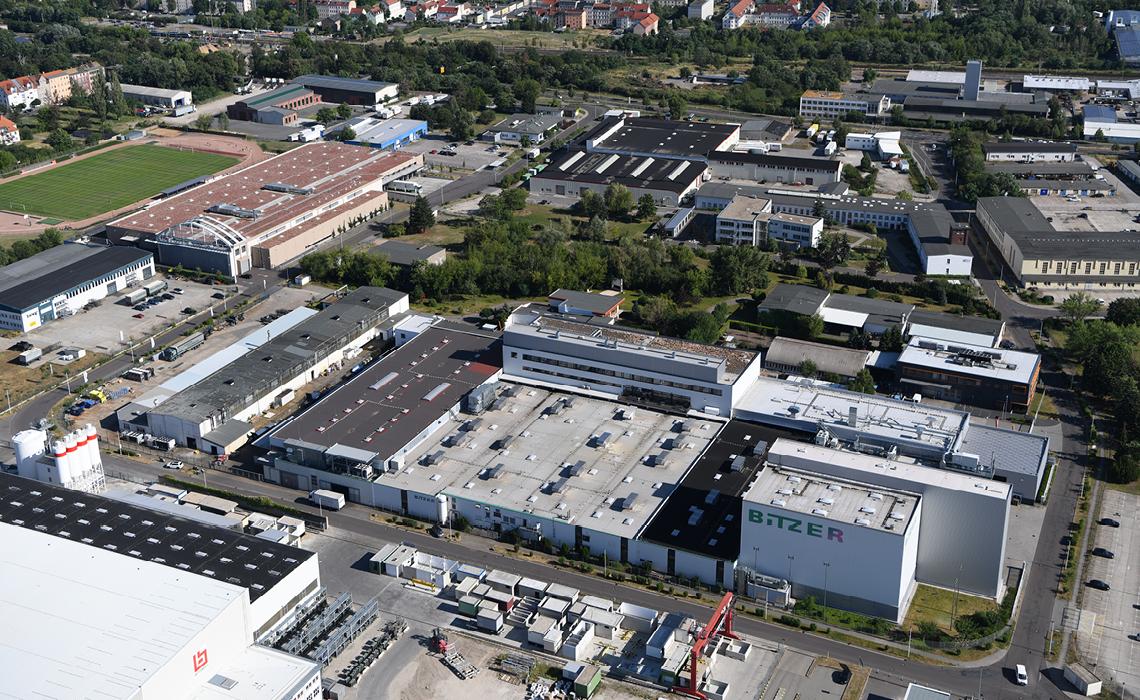 比泽尔施科伊迪茨工厂,北萨克森地区最大的生产基地
