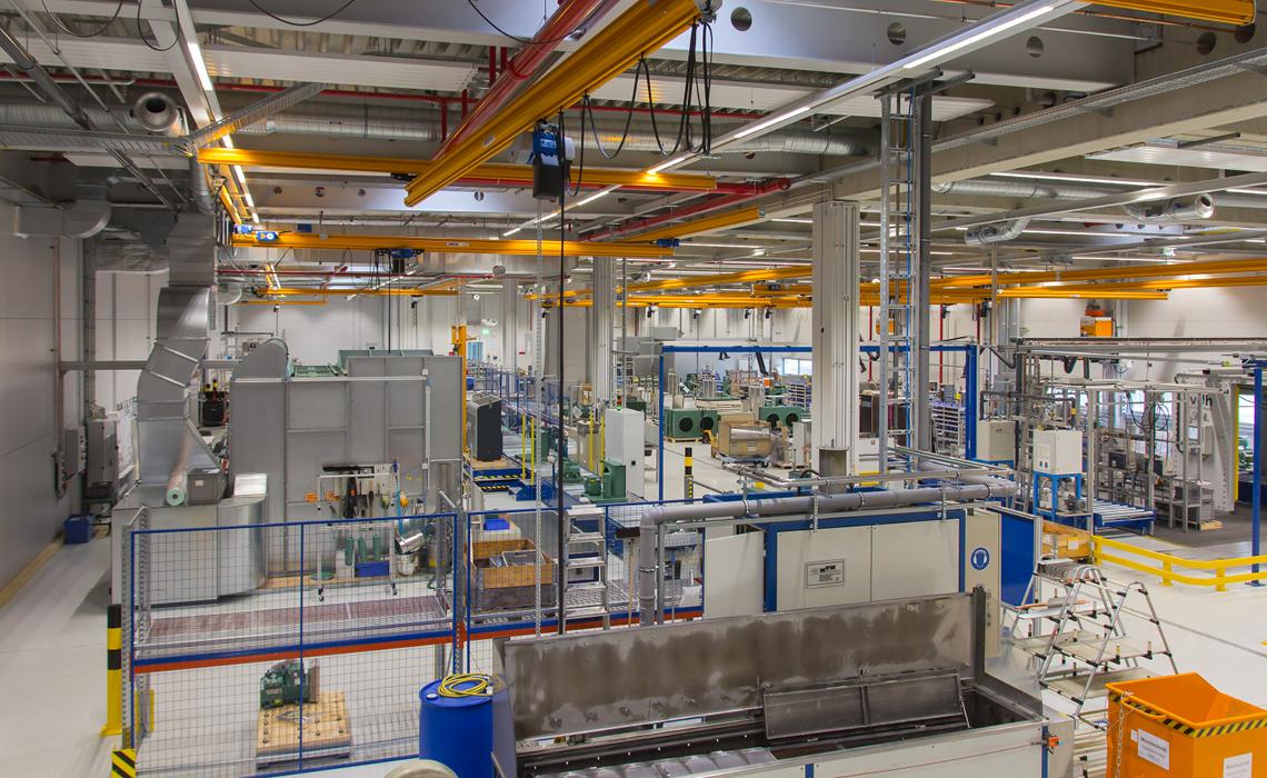 Schkeuditz生產冷凝裝置和往復式壓縮機