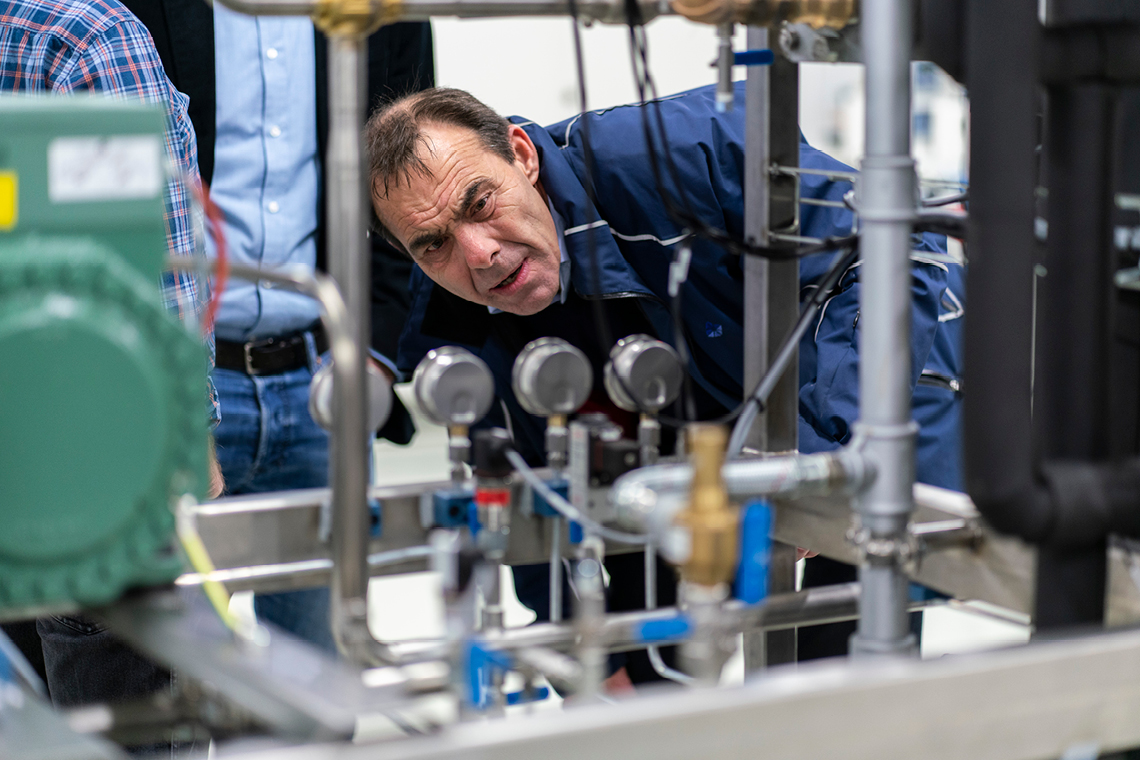 该二氧化碳系统因其用于教学目的,可轻松访问
