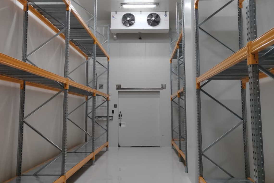 为了提高储存能力,PT Bio Farma 新建了一座大楼。