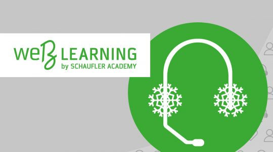 New Webinars from the SCHAUFLER Academy