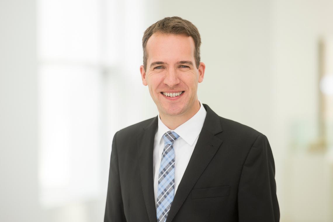 Unternehmenssprecher Patrick Koops