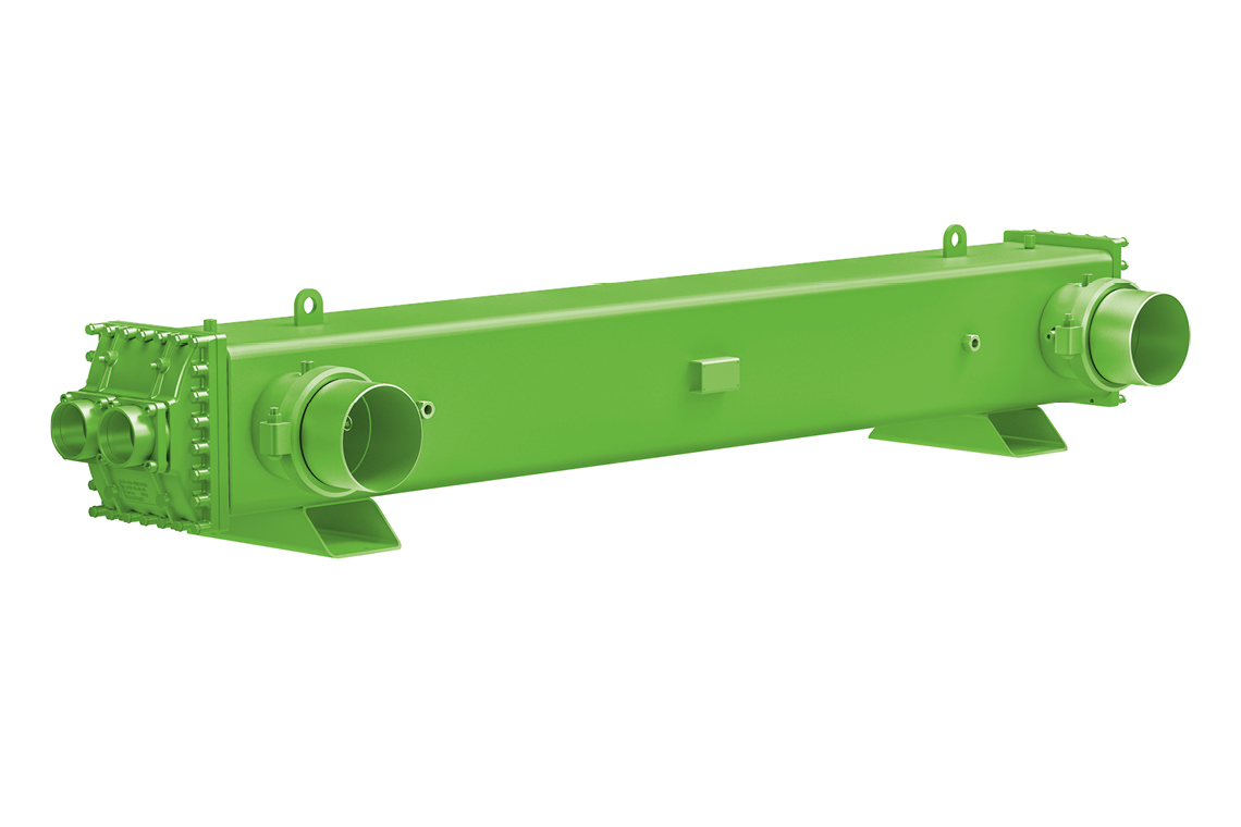 BITZER SQD evaporators are compact and easy to integrate into a liquid chiller