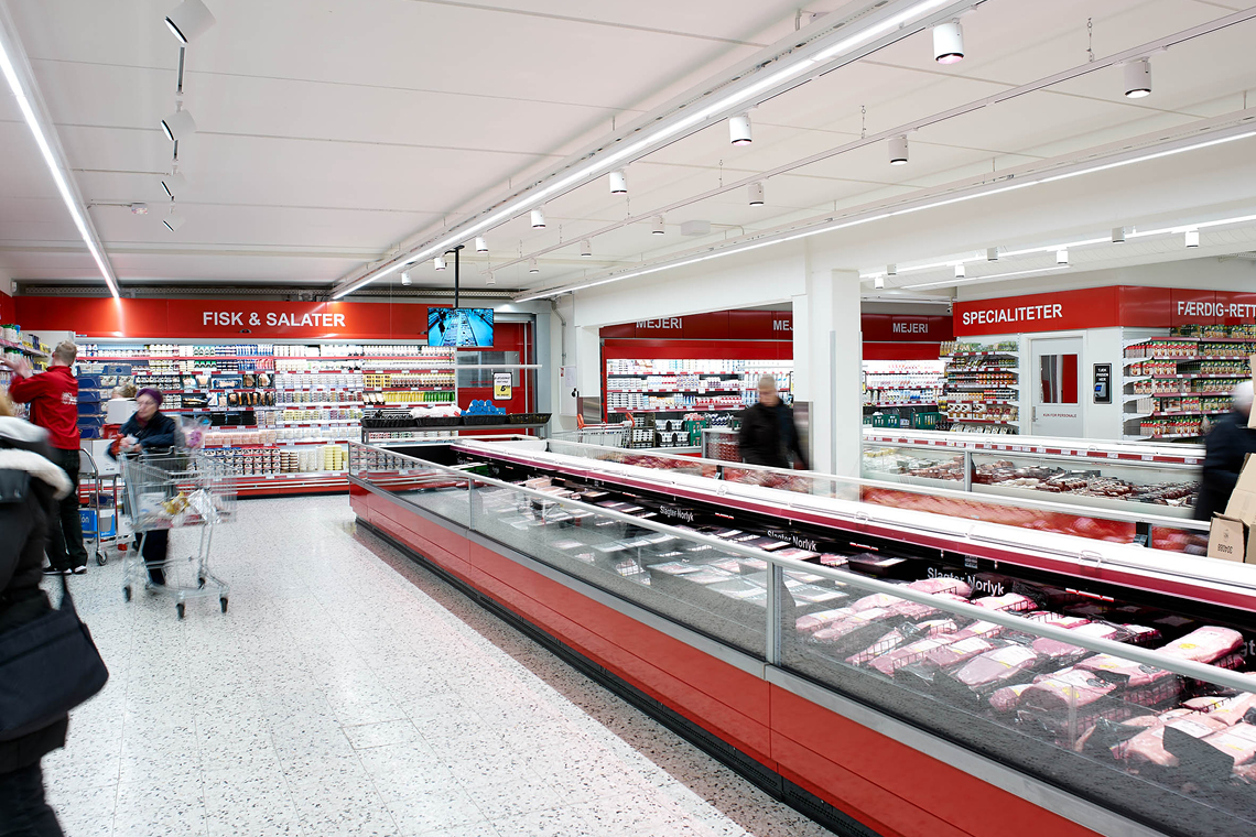 ABC Lavpris modernised the supermarket in Randers, Denmark, in 2017
