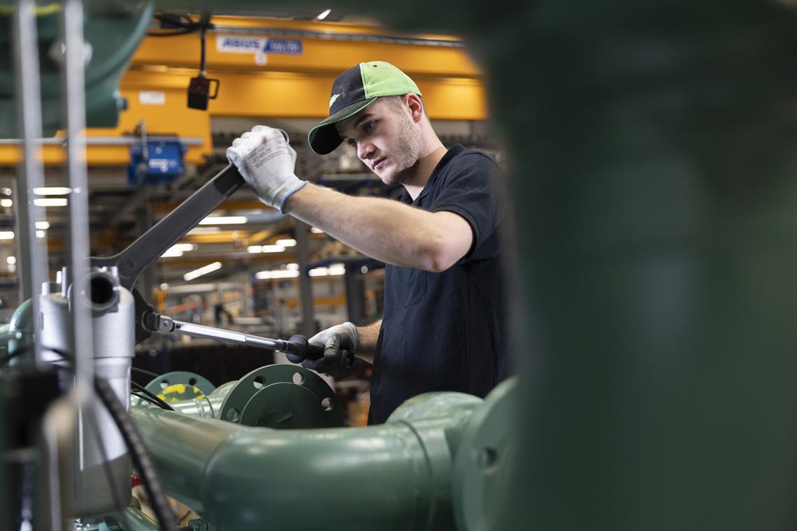 BITZER ACPs werden im Werk in Rottenburg-Hailfingen gefertigt