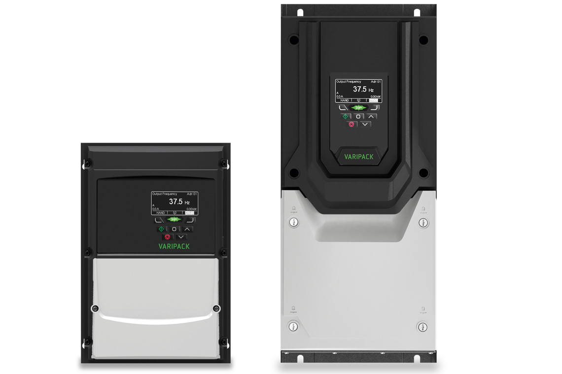 BITZER VARIPACK is now also available with the IP55/66 protection class